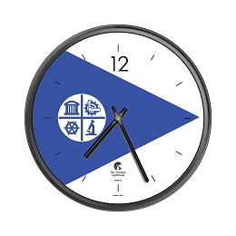 Chicago Lighthouse | City Flag - Minneapolis  12.75 inch decorative wall clock