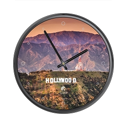 Chicago Lighthouse | Hollywood Sign  12.75 inch decorative wall clock
