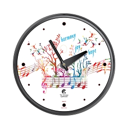 Chicago Lighthouse | Harmony Joy Hope  12.75 inch decorative wall clock