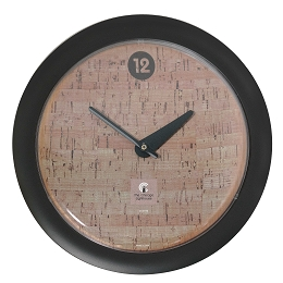 Chicago Lighthouse | Cork  14 inch decorative wall clock | Contemperary Dial