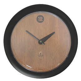 Chicago Lighthouse | Oak Veneer 14 inch decorative wall clock | Contemperary Dial