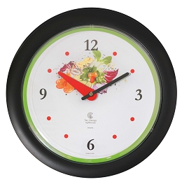 Chicago Lighthouse | Vegetable Garden 14 inch decorative wall clock | Green Accent