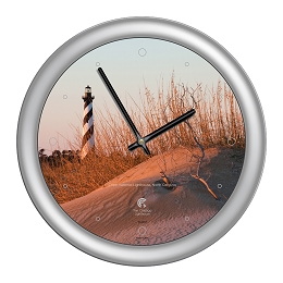 Chicago Lighthouse | - Cape Hatteras Lighthouse 14 inch decorative wall clock