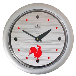 Chicago Lighthouse | Morning Rooster   14 inch decorative wall clock