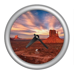 Chicago Lighthouse | Southwest - Monument Valley   14 inch decorative wall clock
