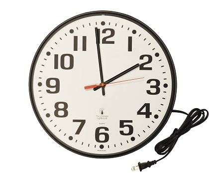 Corded Electric Commercial/Residential Wall Clock | 12.75