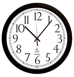 SelfSet Movement Commercial/Residential Wall Clock | 16.5