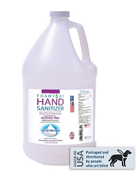 Hand Sanitizer, Alcohol Free - Foam - 1 gal. refill
