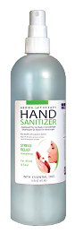 Hand Sanitizer, Aroma Therapy - 16 oz. spray bottle