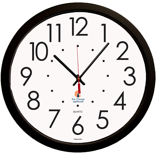 "Large   14.5"" Quartz Movement Decorative Wall Clock -"