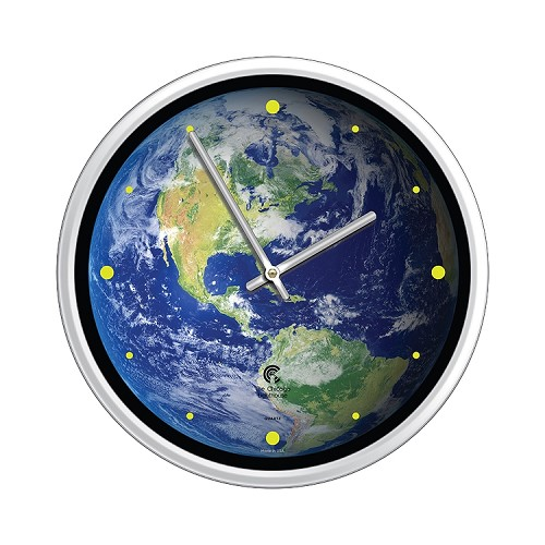Chicago Lighthouse | Earth the Beautiful  12.75 inch decorative wall clock